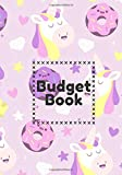 Budget book: Monthly budget notebook Unicorn Donut, Account book   7x10' 100 pages   Manage your income and expenses with this budget planner   ... notepad   Invoice and purchase cash .